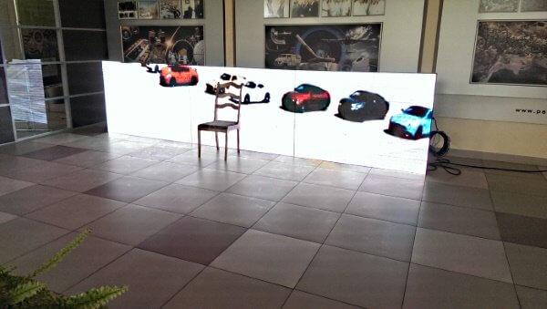 Видео табло для компании ПЕЛЕНГ