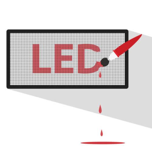 Обслуживание и создание роликов для светодиодных экранов