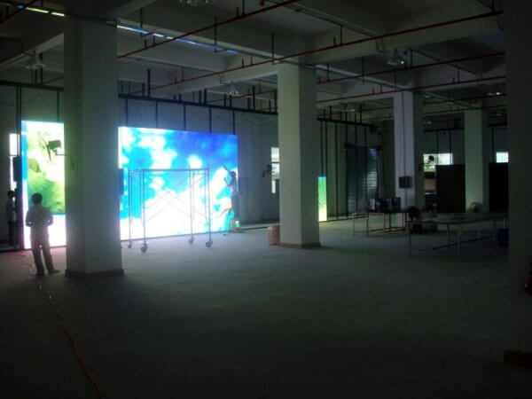 Большая видео стена светодиодная для выставки