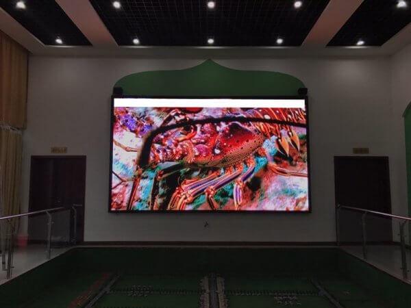 Светодиодный видео-экран для интерьера