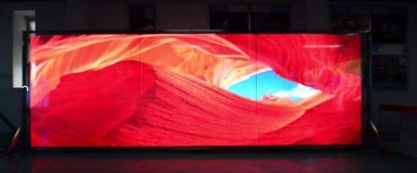 Цветной светодиодный экран-табло