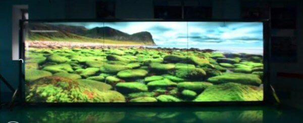 RGB цветной экран, видео витрина