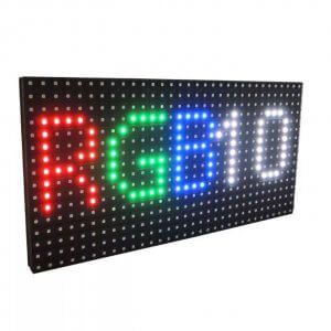 Уличный светодиодный модуль P10 RGB